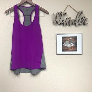 Athleta Purple and Grey Tank